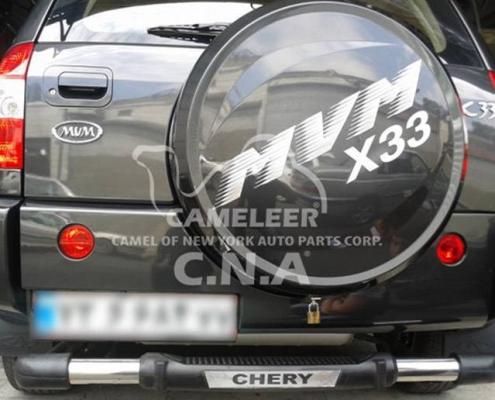 گارد و رکاب X33 , گارد عقب تکلول MVM X33